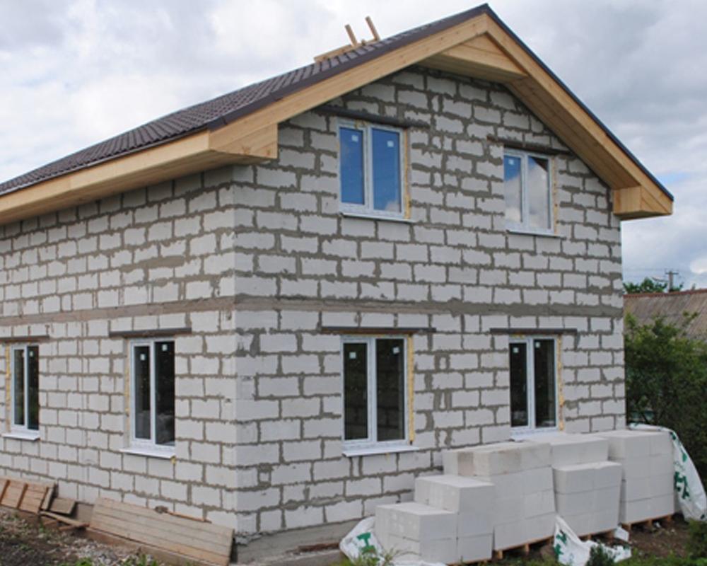 Строительство домов из газобетона под ключ в Москве